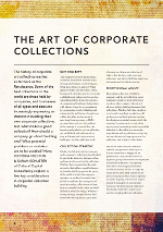 The art of corporate collections
